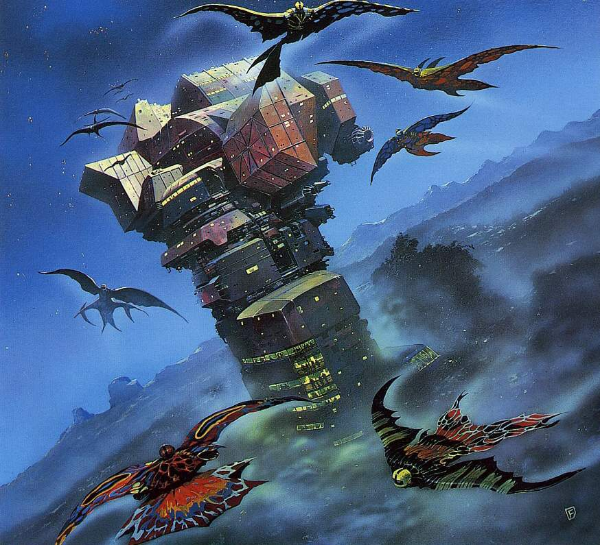70s Sci Fi Art Chris Foss: Moore Chris